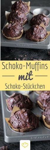 Double-Chocolate Muffins – Für all die, für die …