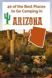 40 des meilleurs endroits pour faire du camping en Arizona   – Camping checklist