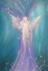 """Photo of Angel Art Photo """"Es liegt in dir"""", Schutzengel-Geschenkidee für Weihnachten, Geschenk für sie, Spirituell"""