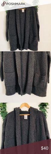 UO Kimchi Blue Weekend Cardigan Sweater Grey Urban Outfitters Kimchi Blue Weeken… – My Posh Picks
