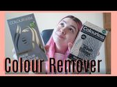 Removing Red Hair Dye | Colour B4 V's Colourless