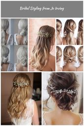 This elegant hairstyle is also suitable for wedding.Low bun wedding hair can match your wedding dress. Bridal hair updo or bridesmaid hair updo is per...