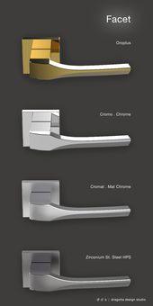 Facet Designboom Com Door Handle Design Door Handles Door Handles Interior