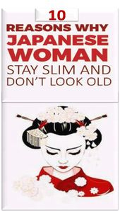 10 raisons pour les femmes japonaises de rester minces et de ne pas avoir l'air vieilles   – Losing Fat