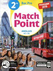 Englisch 2 of Bac Pro Match Point – Studententasche – Großformat