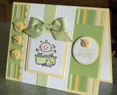 Baby Cards handmade stampin up fall cards   Handmade Baby Card Stampin Up Baby Firsts Bath ...