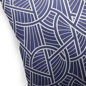 Bloomsbury Market Corinne Indoor/Outdoor Throw Pillow Size: 16″ x 16″