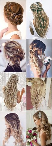 19 Stylish Wedding Hairstyles to Brighten up Your …