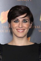Vicky-Mcclure Brilliant Short Straight Hairstyles #Menshairstyles