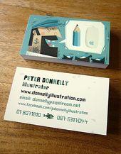 Illustrator Business Card Sea Ways