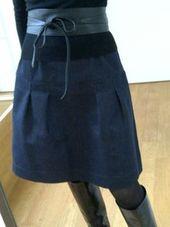 Défi 13: Bleu !! – Lou & Jo   – cours couture