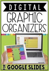 Digital Graphics Organizers in Google Slides™: The Techie Teacher®: Amazon.com Services