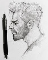 "Efraín Malo on Instagram: ""✍️ tag your bearded friend!  #graphgear500 #graphite #pentel #graphite #mechanicalpencil #sketching"""