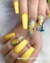 Trendy Ballerina Nail Art 2019 #nailideas #ballerinanails #naildesignideas   – nail design ideas
