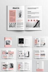 Plantilla de Identidad Corporativa de Propuesta de Proyecto – #marca # Corporativa #Identidad #Pro …   – Design