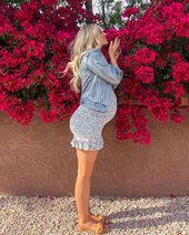 Baby Bump style the bump - cute spring maternity pregnancy outfits