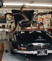 Klassischer Mercedes 300 SL – #Klassischer #Mercedes #SL  – Cars & Bikes
