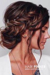 Wedding Hairstyles 30 Wedding Hairstyles 201 – #frisuren #Hairstyles # hochgest… – Best Pinterest Blog