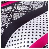 Leona Comforter Set (King/California King) 4pc - Pink