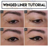 Winged Eyeliner for Hooded & Small Eyes: Methods and Merchandise – The Magnificence Milk