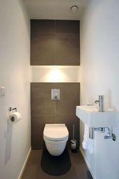 40+ verträumte WC / WC-Ideen mit vollen Inspirationen im Badezimmer #badezimmer