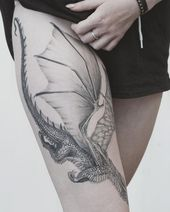 Drachen Tattoo | Tattoo Ideen und Inspiration