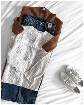 """Heute abend jumper #ganni – jeans # levis501 – schuhe #hermes – geldbörse #chloe – sunn …"