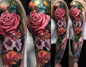 ▷ 1001 Blumen Tattoo Ideen und Informationen über ihre Bedeutung