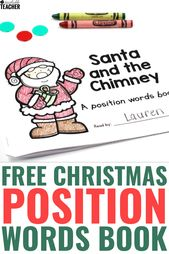Fun, Festive and FREE Christmas Position Words Book