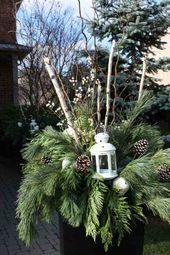 Weihnachtsdekoration im Freien, um Ihr Zuhause zu verschönern  – Advent