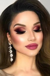 Berry Shades für Smokey Eyes Make-up #berrylips ★ Lust auf frische Ideen …   – Hair + Beauty