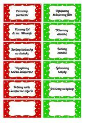 Numerki Do Kalendarza Adwentowego Partymika Christmas Diy Christmas Cards Xmas Decorations