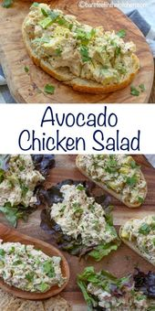 Avocado Chicken Salad is fresh, slightly spicy, and perfect for easy lunches and – Health and Fitness
