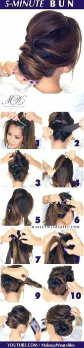 Best Hair Updos Elegant Tutorial Ideas
