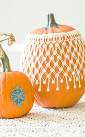 DIY Boho Chic Pumpkins in 3 Easy Steps – Fall Craft Ideas