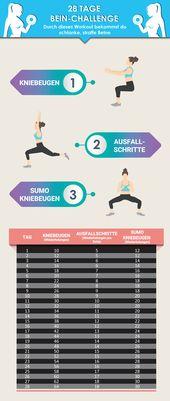 Effective women leg training for the home – The 3 best exercises