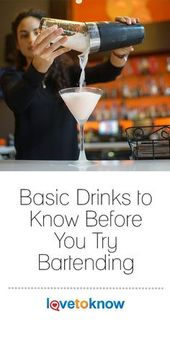 Every bartender needs to know how to prepare a variety of drinks in order to run…