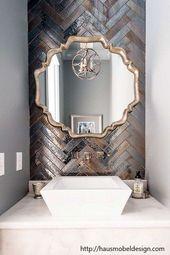 Badezimmerspiegel Mit Eleganz