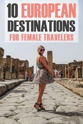 Hier sind die besten Ziele für weibliche Solo …  #Destinations  Hier sind die…