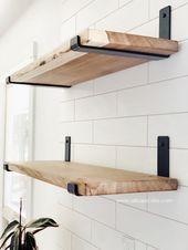 Wie man ein offenes Regal baut – Ein DIY Holzregal Tutorial   – T