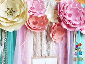 Boho Chic Birthday Party Ideas | Photo 1 of 9 | Catch My Party – #party