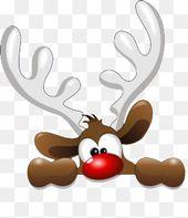 Photo of Cartoon Elk Avatar, handgemalte Cartoon, Weihnachten, Elk PNG Transparent Clipart Bild und PSD-Datei