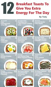 12 Breakfast Toasts To Give You Extra Energy For The Day