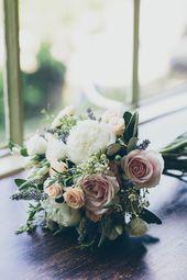 Rustic wedding with greenery