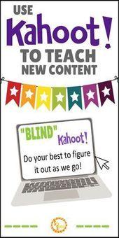 Blind Kahoot – Use Kahoot to Introduce Concepts – SRTA Spanish