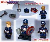 MOC Lego Avengers: Endspiel Captain America   – LEGO MINIFIGURES
