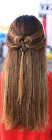 17 adorable heart hairstyles – cute hairstyles for kids you will LOVE! – hair – …