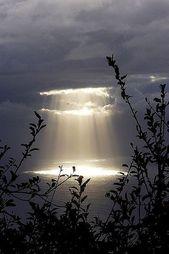 Ich möchte wie das Licht Jesu die Dunkelheit dieser Welt durchdringen.