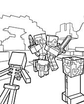 Minecraft Coloring Pages Pictures Topcoloringpages Net Coloring Pages Animal Coloring Pages Lego Coloring Pages