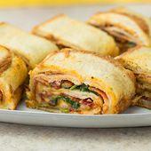Chicken Bacon Ranch Sandwich Roll